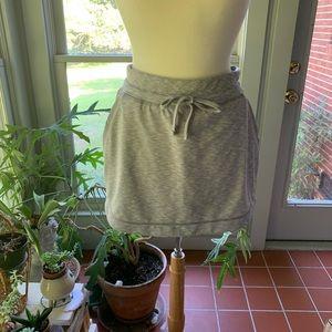 Athleta Downplay light gray skirt